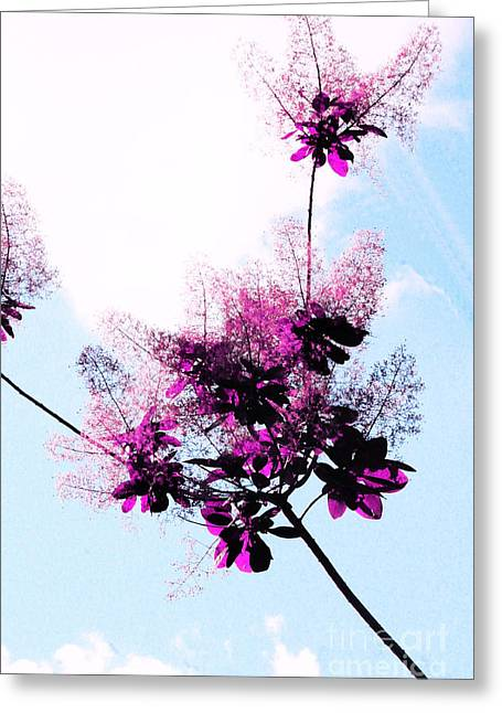 Lace Flowers Greeting Card