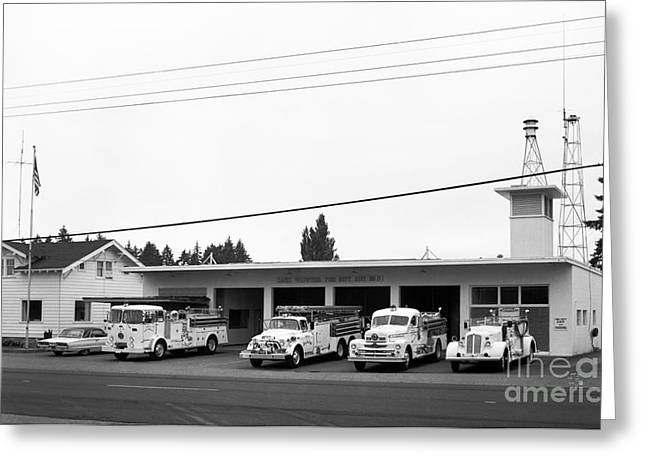 Lacey Fire Dept. Greeting Card