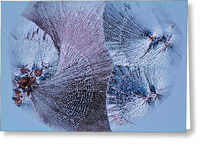 Lactose Crystals Greeting Card