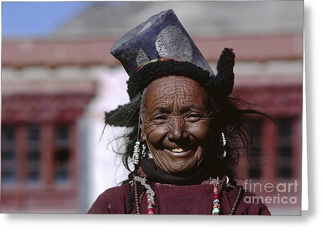 Ladakhi Smile - Ladakh India Greeting Card by Craig Lovell