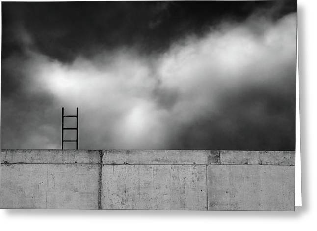 Ladder And Wall... Greeting Card