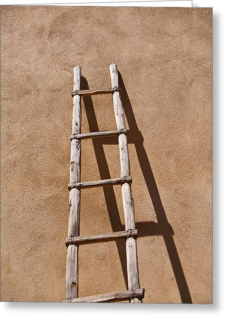 Ladder Greeting Card by James Granberry