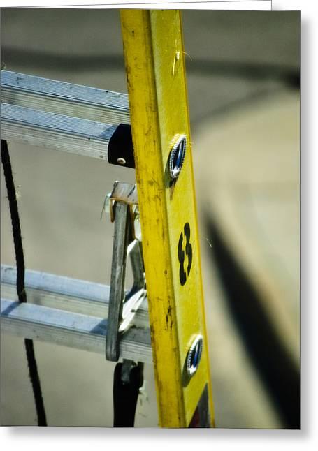Ladder No 8 Greeting Card by Christi Kraft