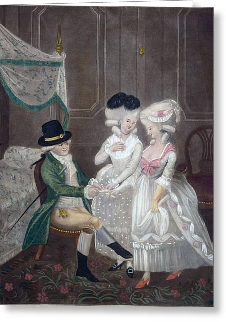 Ladies Of Pleasure, 1781 Greeting Card by English School