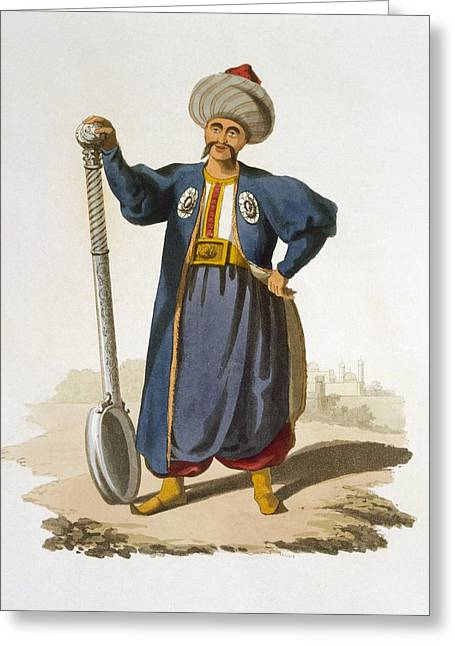 Ladle Bearer, 1818 Greeting Card