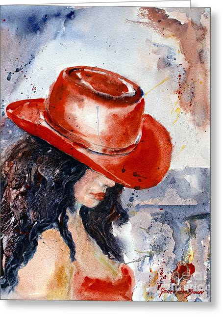 The Red Hat Greeting Card