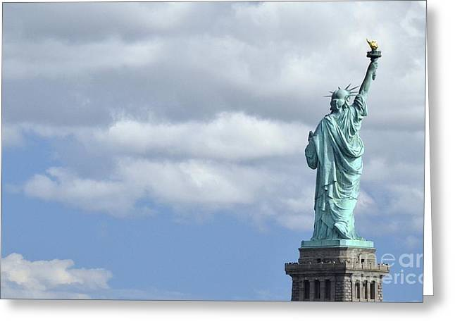 Lady Liberty   1 Greeting Card