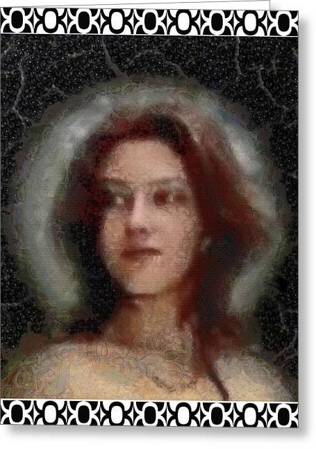 Lady Magdalena Greeting Card