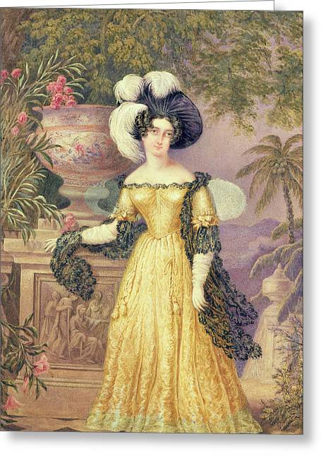Lady Rowe Greeting Card by Isaac Mendes Belisario