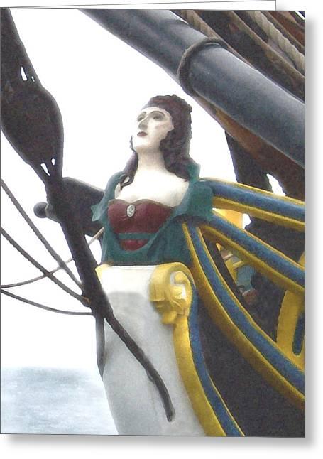 Lady Washington Greeting Card