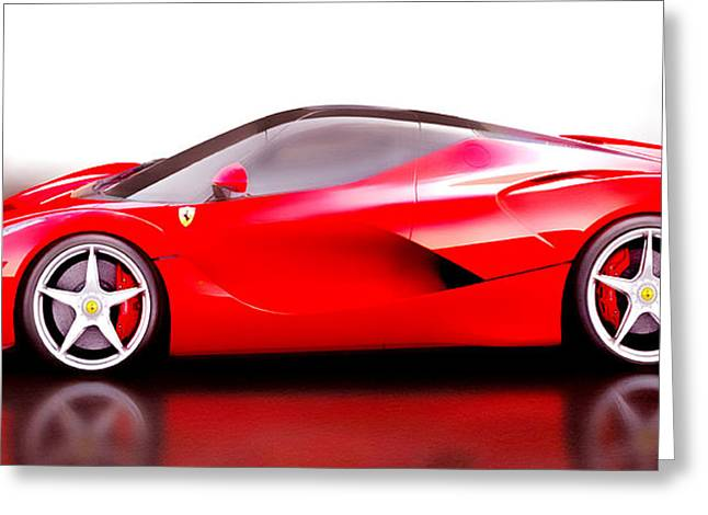 Laferrari Greeting Card