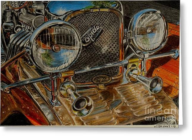 Lagona Rapide Tulipwood  Greeting Card by Jackie Bryant