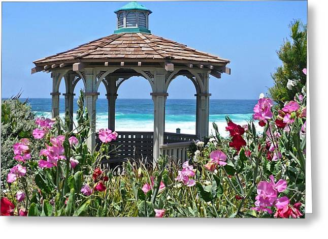 Laguna Gazebo Greeting Card