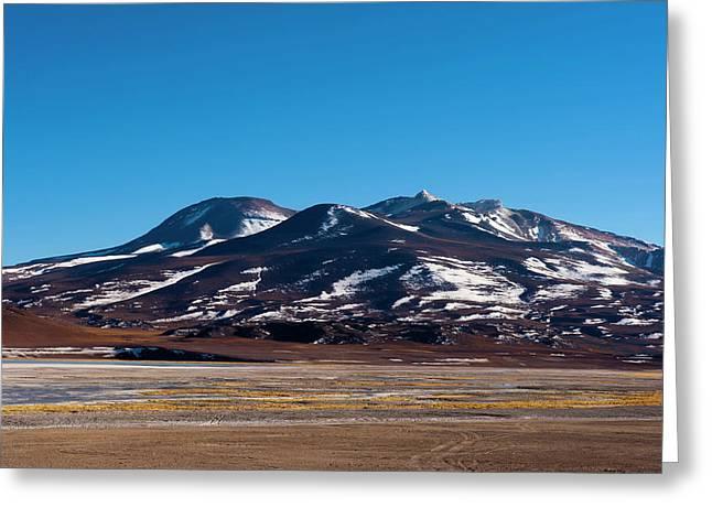 Laguna Tuyajto, Atacama Desert, Chile Greeting Card