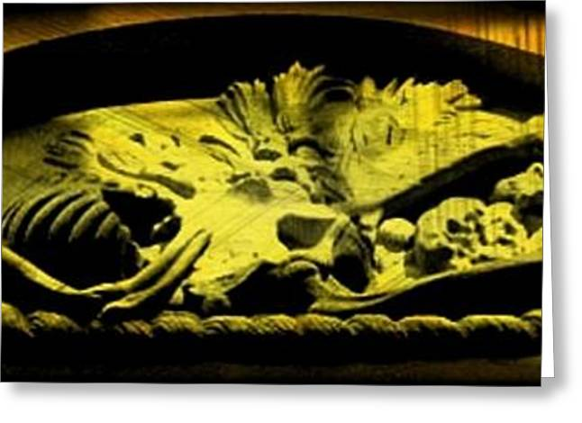 Laid To Rest Greeting Card by John Malone