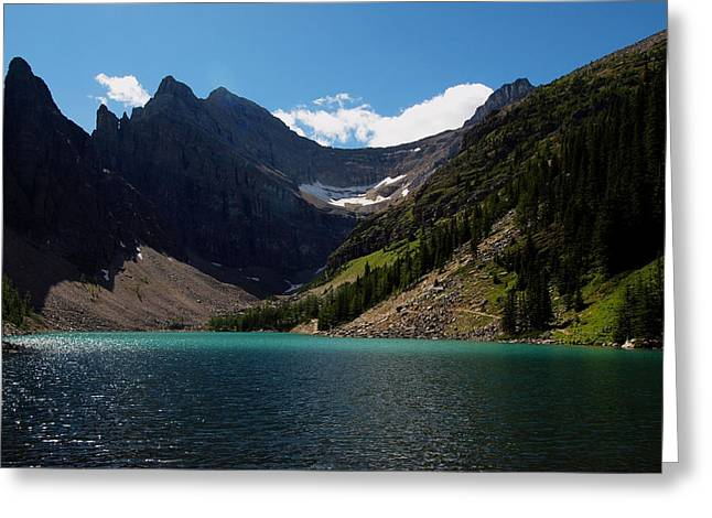 Lake Agnes Greeting Card