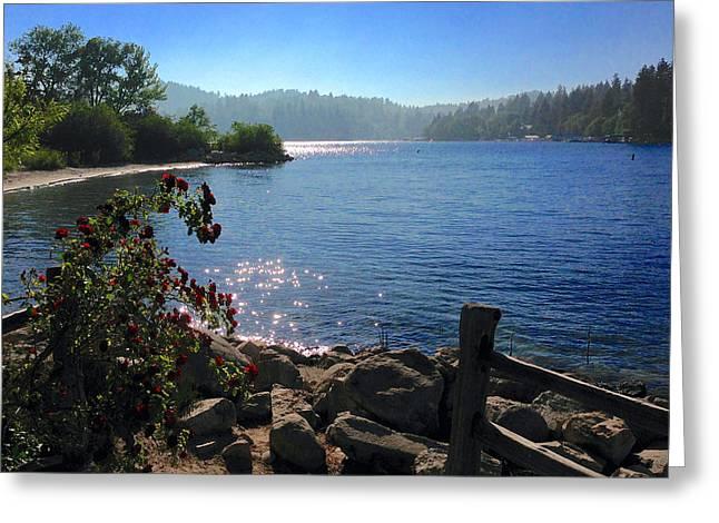 Lake Arrowhead Greeting Card
