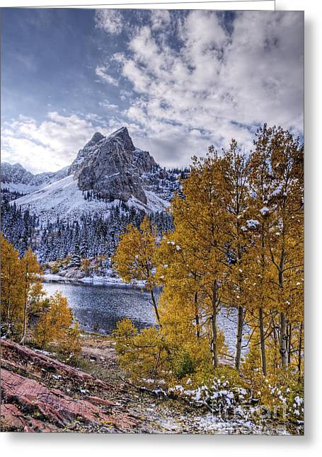 Lake Blanch Greeting Card by Earl Nelson