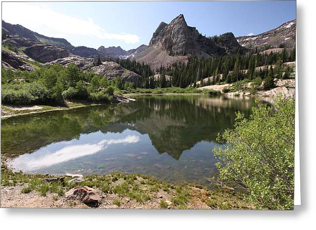 Lake Blanche Greeting Card by Darryl Wilkinson