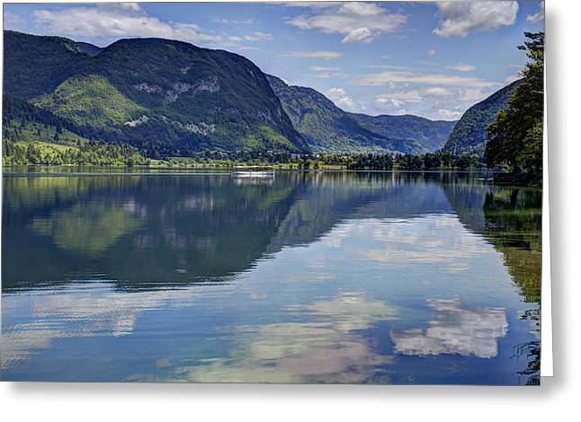 Lake Bohinj Greeting Card