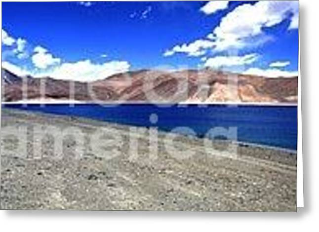 Lake Chungla -leh Greeting Card by Baljit Chadha