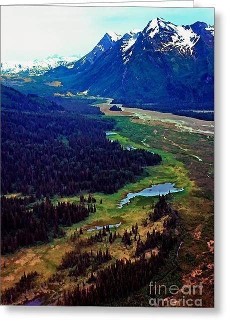 Lake Clark National Park Greeting Card by Thomas R Fletcher