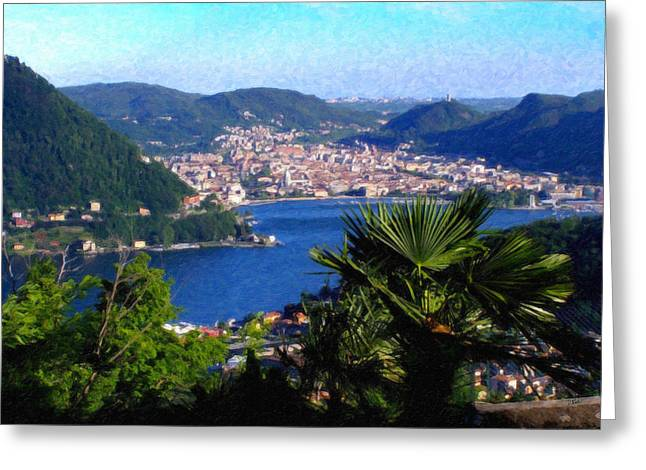 Lake Como Itl7724 Greeting Card