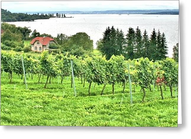 Lake Constance Greeting Card
