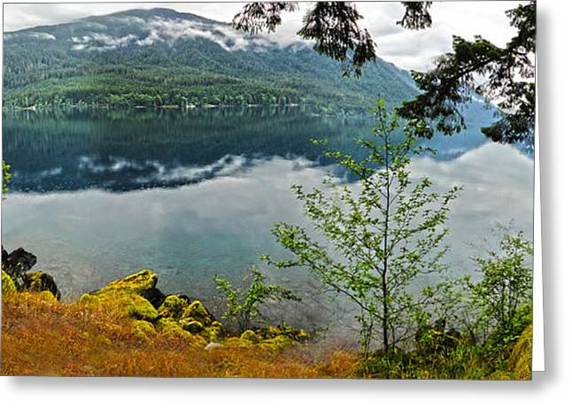 Lake Crescent - Washington - 02 Greeting Card by Gregory Dyer