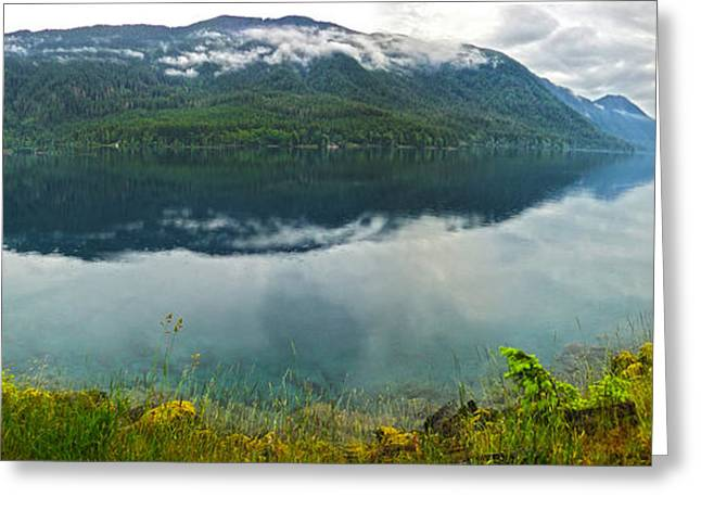 Lake Crescent - Washington - 03 Greeting Card by Gregory Dyer