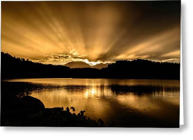 Lake Dillon Sunset Greeting Card