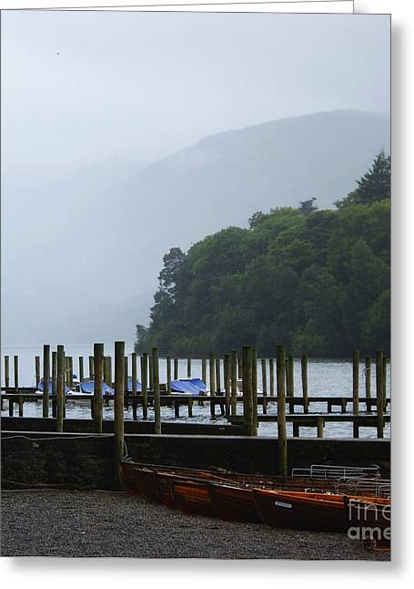 Lake District For A Reason Greeting Card by Malcolm Suttle