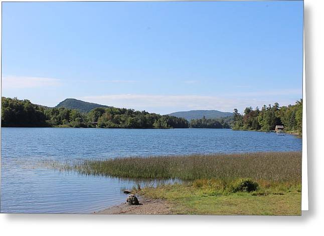 Lake Eden Vermont Greeting Card