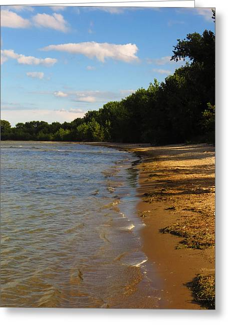 Lake Erie Shore 3 Greeting Card