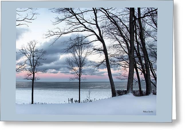 Lake Erie Sunrise Greeting Card