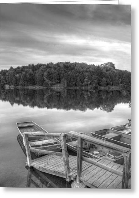 Lake Frederick  Greeting Card by Kathleen Holley