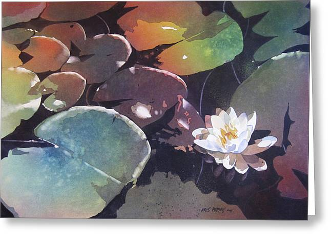 Lake Garden Greeting Card