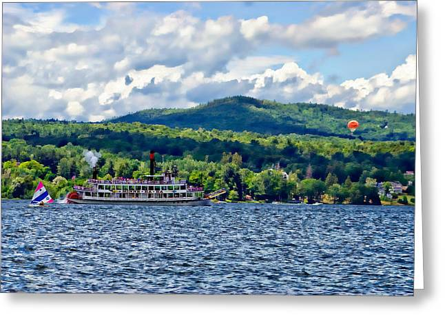 Lake George Ny Greeting Card