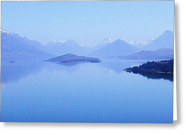 Lake Glenorchy New Zealand Greeting Card