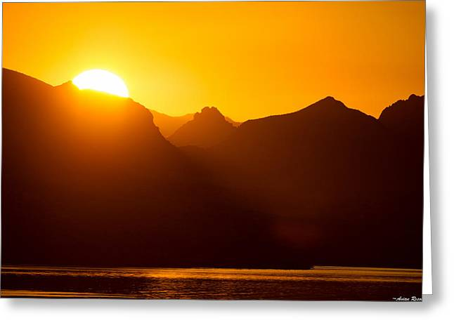Lake Havasu Sunrise 2 Greeting Card