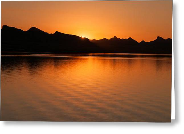 Lake Havasu Sunrise Greeting Card