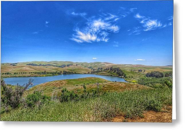 Lake Herman Greeting Card by Brian Maloney