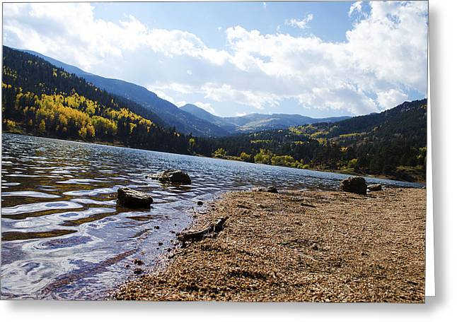 Lake In Colorado Rockies Greeting Card