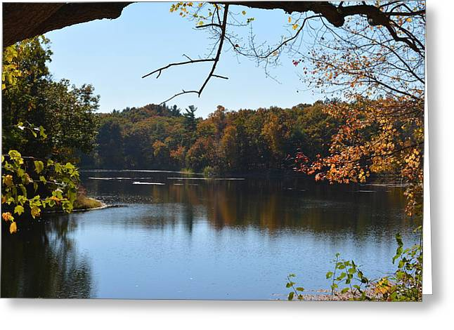 Lake In The Catskills Greeting Card