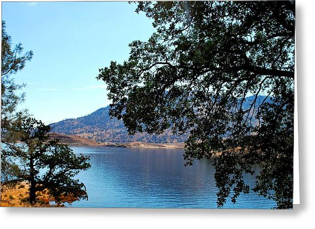 Lake Isabella Greeting Card by Matt Harang