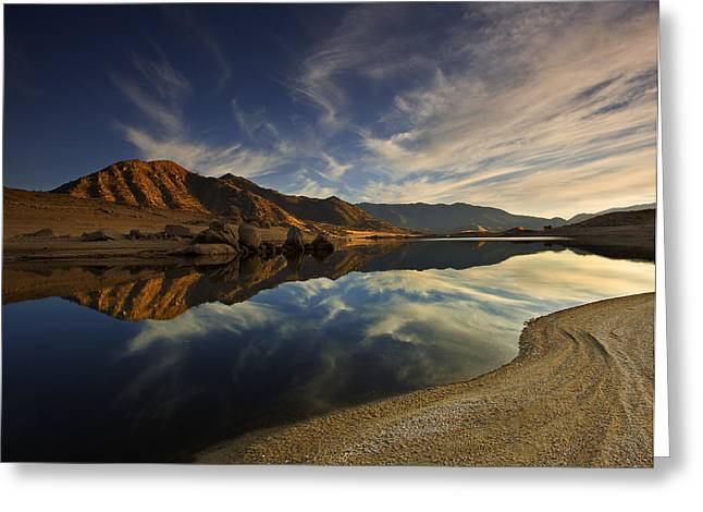 Greeting Card featuring the photograph Lake Isabella  Mg_8082 by David Orias