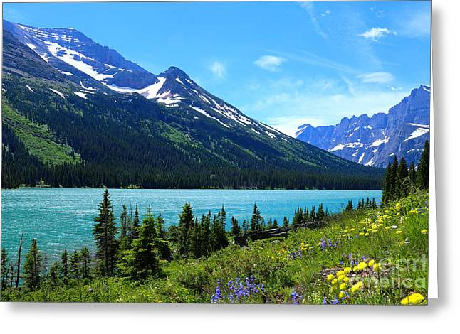 Lake Josephine Greeting Card by Marty Fancy