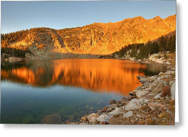 Lake Katherine Sunrise Greeting Card