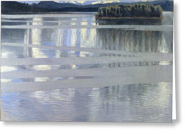 Lake Keitele Greeting Card