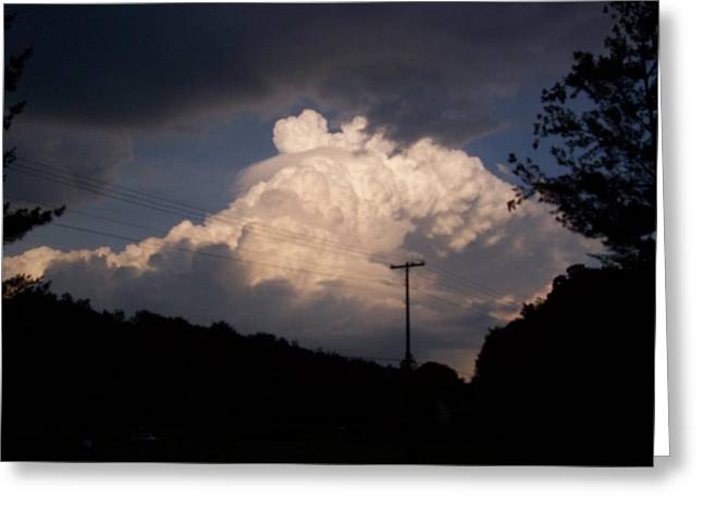 Lake Logan Thunderhead Greeting Card